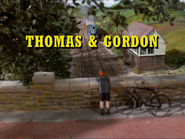 Click here to view the image gallery for Thomas and Gordon.