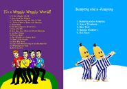 The Wiggles and Bananas in Pyjamas - IAWWW and BAAJ DVD Booklet - Inlay