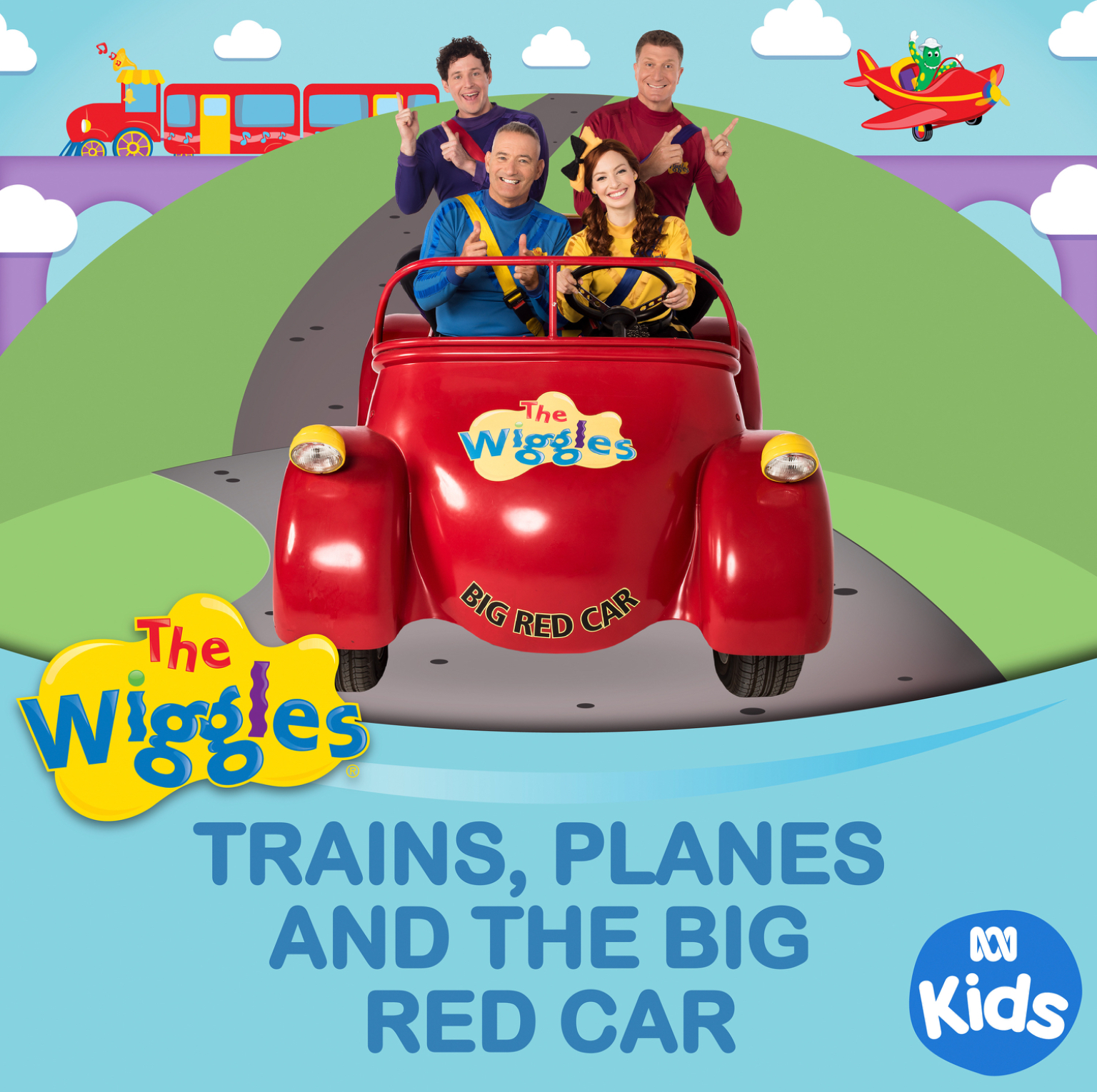 Trains, Planes and the Big Red Car (single)
