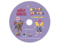 The Hooley Dooleys and Bananas in Pyjamas - Pop and It's Music Time DVD Cover - Disc