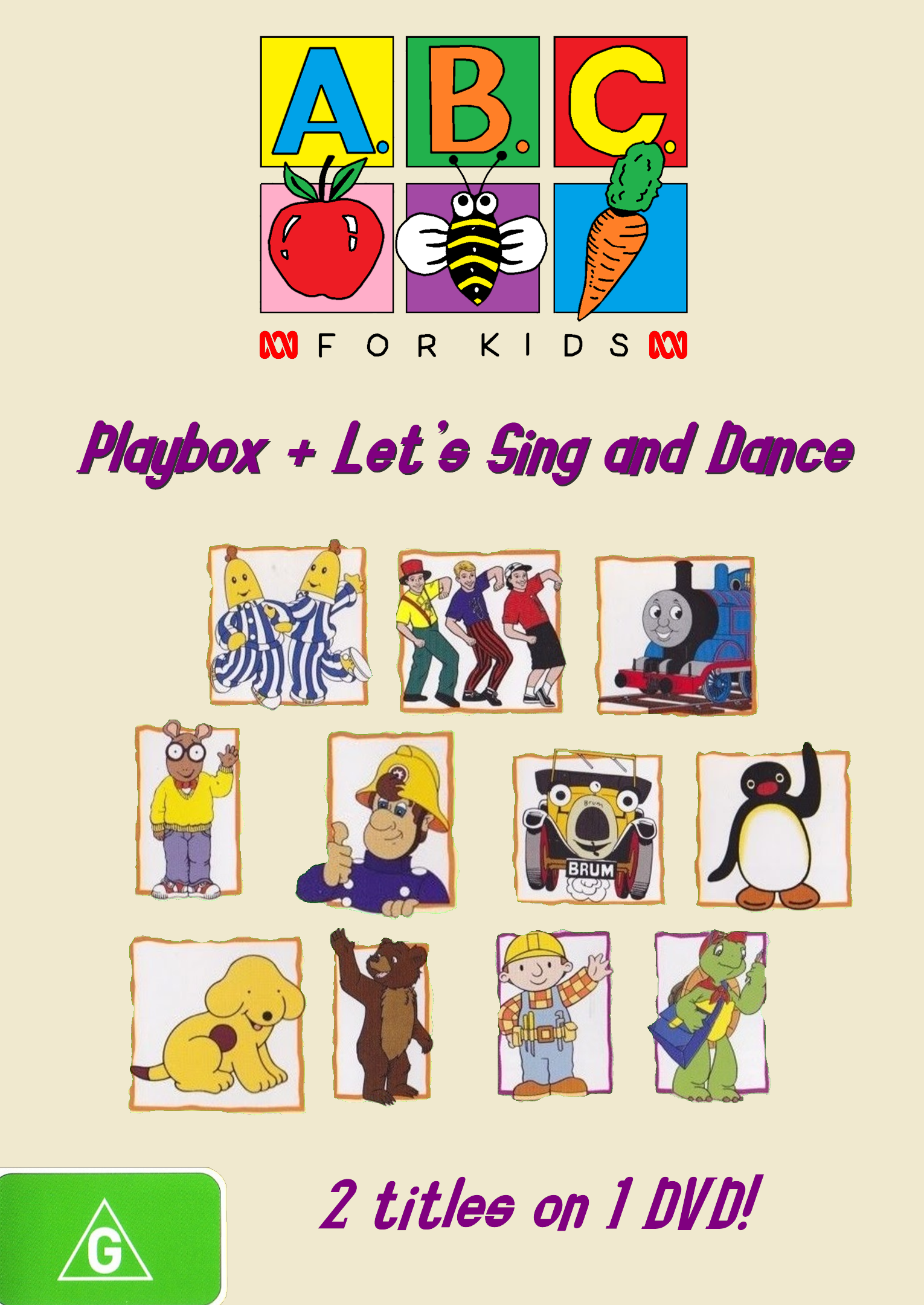 ABC for Kids: Play Box + Let's Sing and Dance