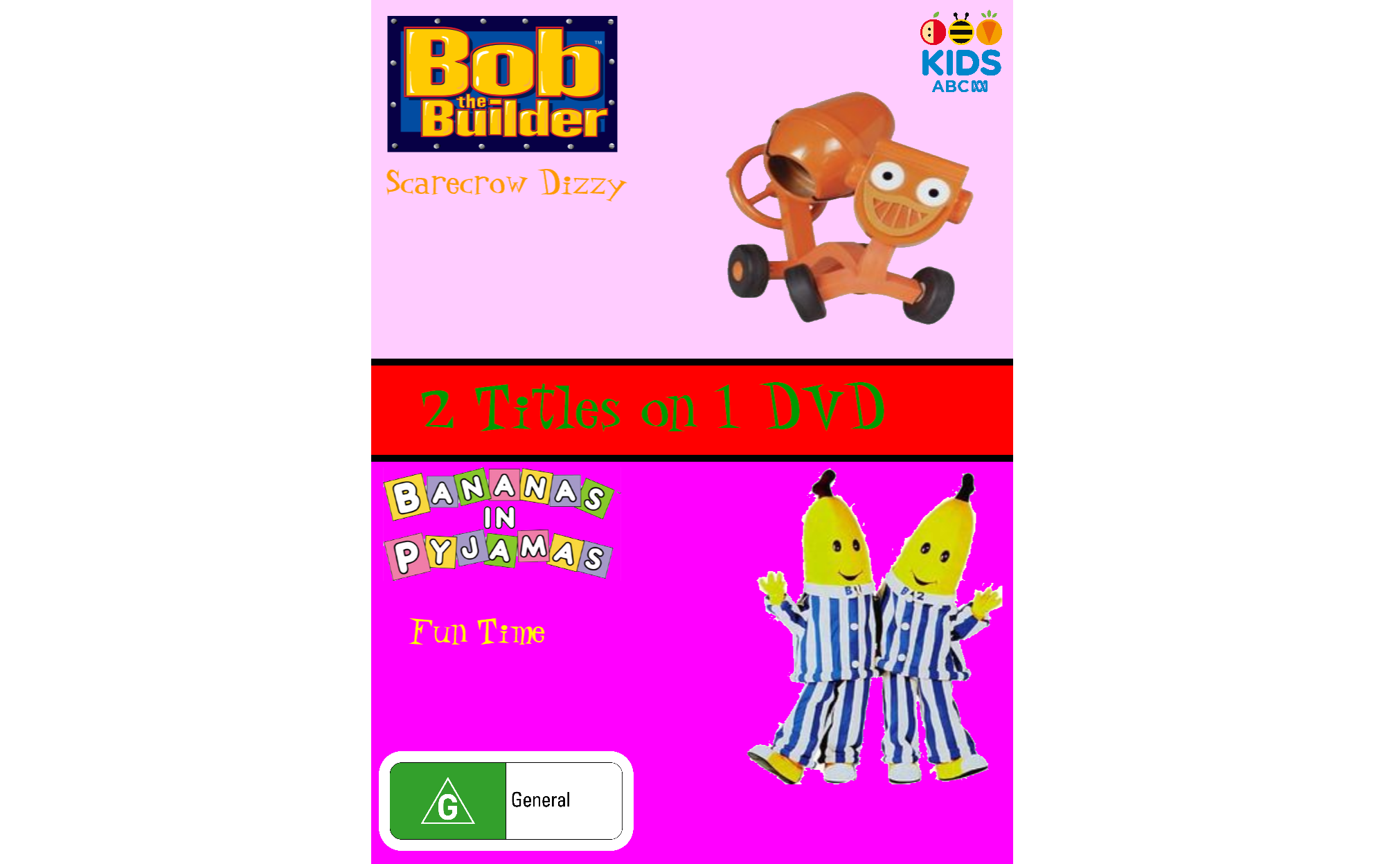Bob the Builder and Bananas in Pyjamas: Scarecrow Dizzy and Fun Time
