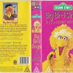 Big Bird Sings and 1,2,3 Count with Me