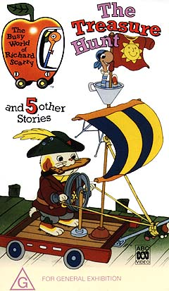 The Busy World of Richard Scarry - The Treasure Hunt