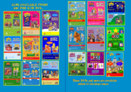 The Wiggles and The Hooley Dooleys - Hot Poppin' Popcorn and Roll Up Roll Up 2018 re-release DVD Booklet - Inside