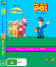Here Come the Teletubbies and Postman Pat Takes the Bus DVD Cover