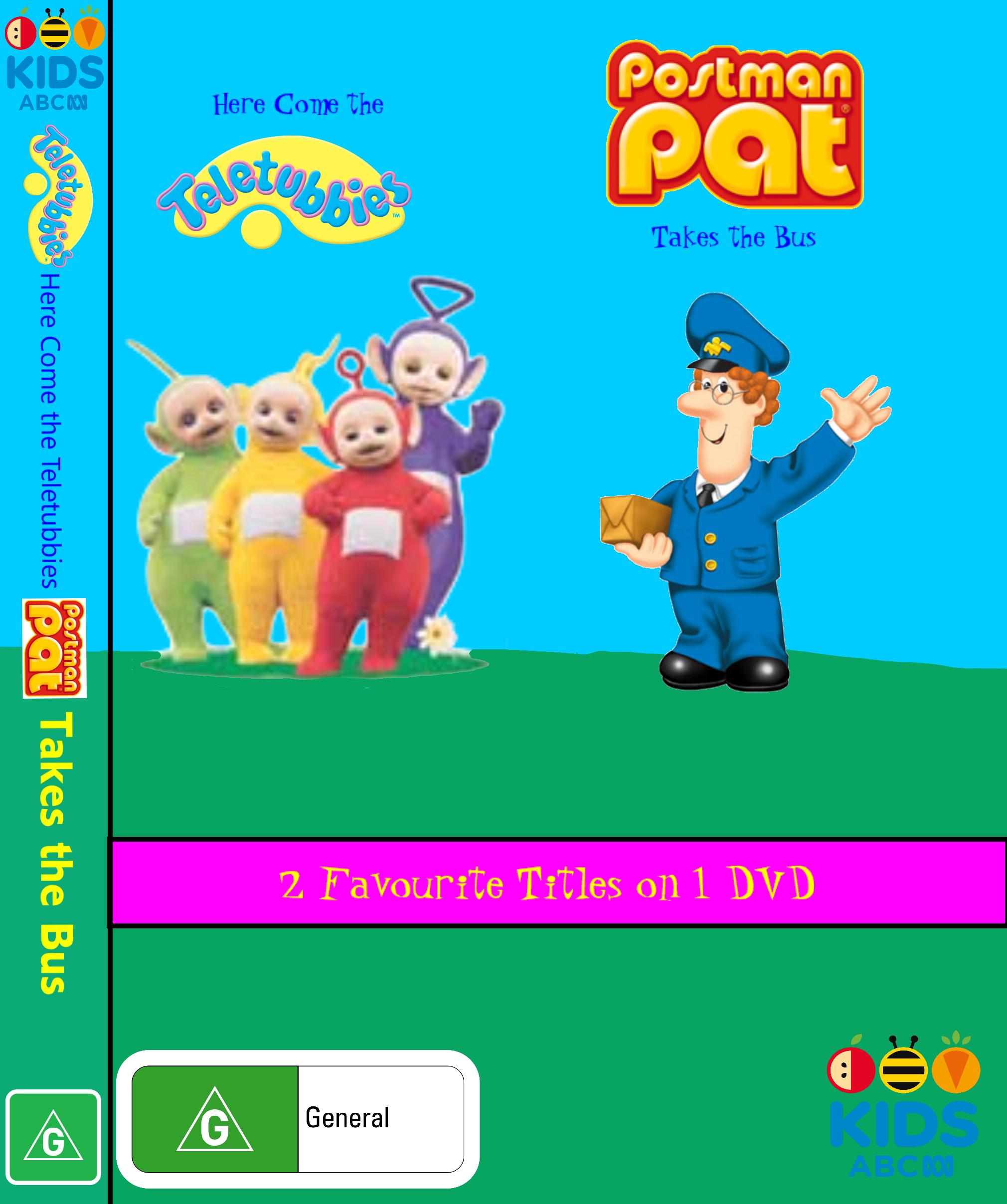 Teletubbies /Postman Pat: Here Come the Teletubbies/Postman Pat Takes the Bus (video)