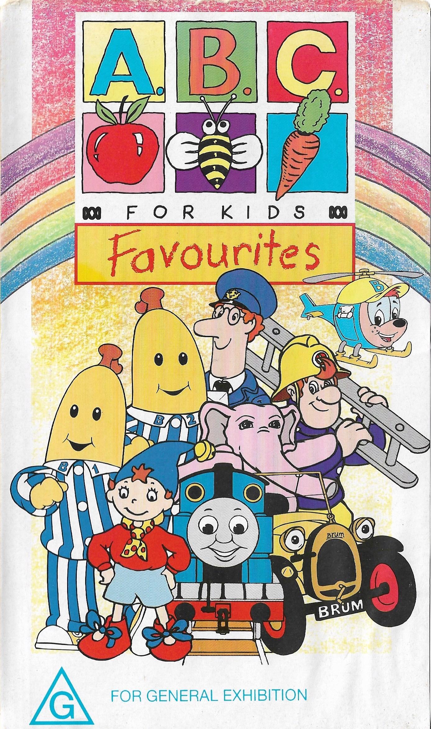 ABC For Kids Volume 2 Favourites (1997) 2020 DVD.jpeg