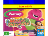 ABC For Kids Fanon: Yo Gabba Gabba and Barney - Fun with Friends and Movin' and Groovin'