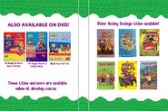 The Wiggles and The Hooley Dooleys - Wiggly Safari and Ready Set Go DVD Cover - Inside