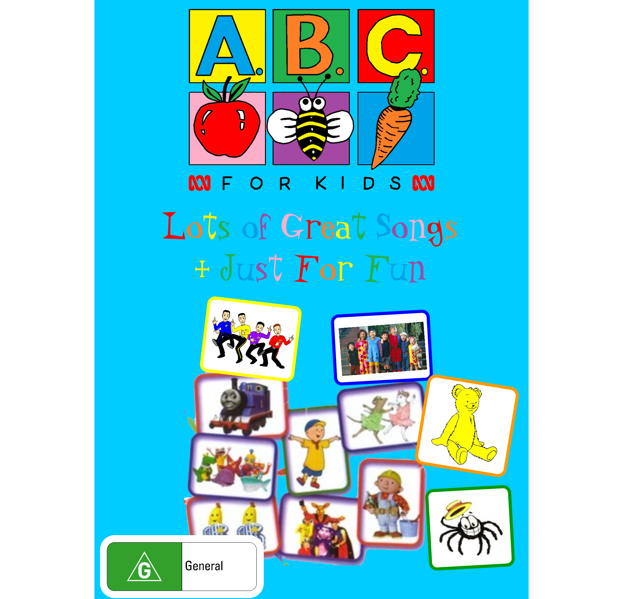 ABC For Kids - Lots of Other Great Songs + Just for Fun (video)