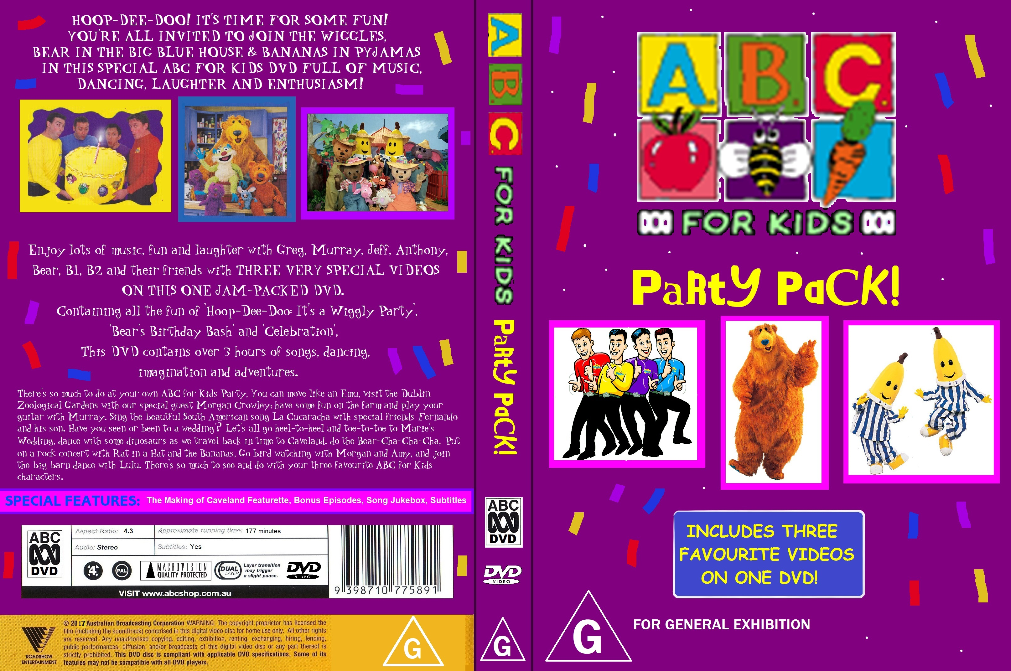 ABC For Kids Fanon ABC for Kids: Party Pack