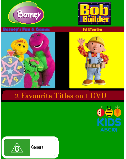 Barney's Fun & Games/Bob the Builder Put It Together