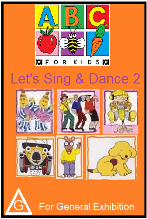 ABC For Kids Let's Sing & Dance 2 (2003) DVD.png