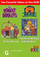 The Hooley Dooleys and Bear in the Big Blue House - To the Rescue and Home is Where the Bear is DVD Cover - Copy