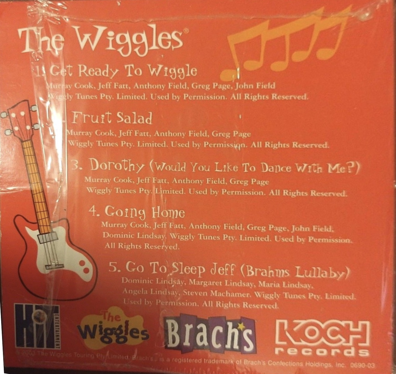 Compliments of Brach's and The Wiggles