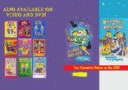 The Wiggles and Bananas in Pyjamas - IAWWW and BAAJ DVD Booklet