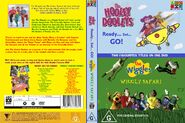 The Wiggles and The Hooley Dooleys - Wiggly Safari and Ready Set Go DVD Cover