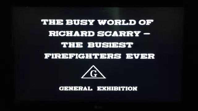 The Busy World of Richard Scarry - The Busiest Firefighters Ever