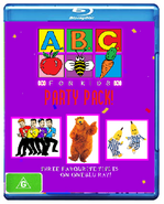 ABC For Kids Party Pack Blu Ray Cover
