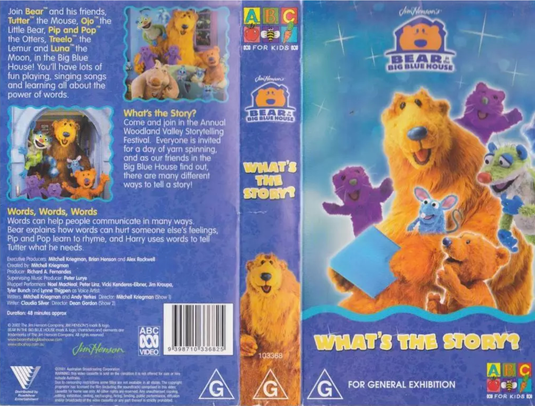 Bear in the Big Blue House - What's the Story/Gallery