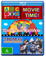 ABC For Kids Movie Time Blu Ray Cover