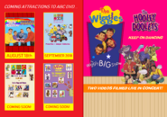 The Wiggles and The Hooley Dooleys - The Wiggly Big Show and Keep on Dancing re-release DVD Booklet