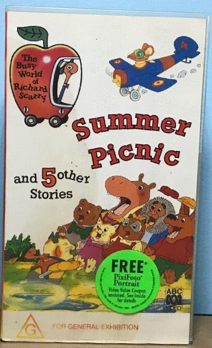 The Busy World of Richard Scarry - Summer Picnic