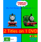 My First Thomas with Thomas and Percy DVD Cover