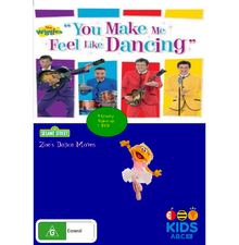 You Make Me Feel Like Dancing and Zoe's Dance Moves DVD Cover.png
