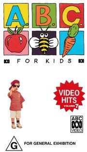 ABC For Kids Video Hits Volume 7 1994 VHS.jpeg