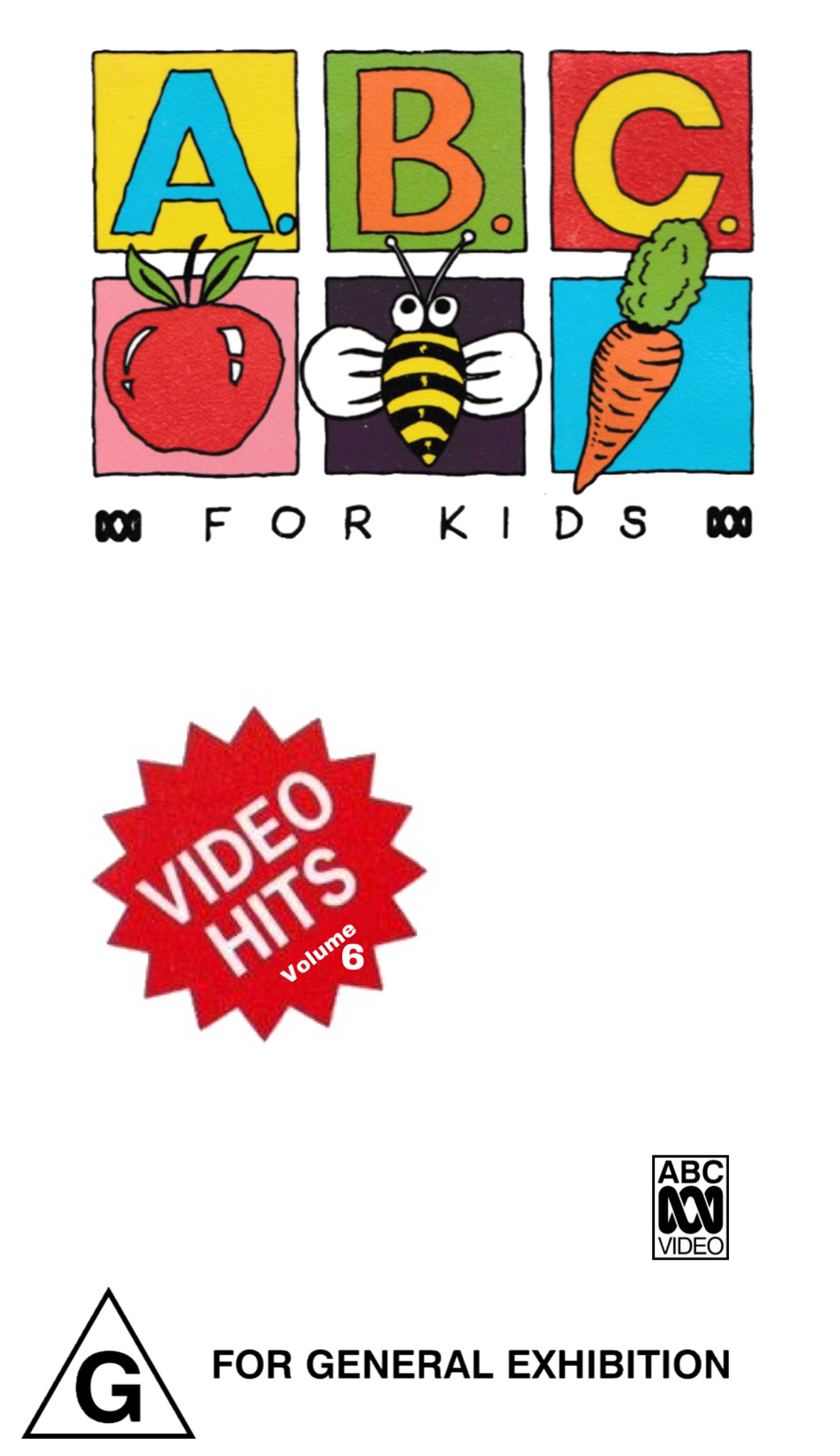 ABC For Kids Fanon: ABC For Kids Video Hits Volume 6