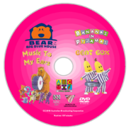 Bear in the Big Blue House and Bananas in Pyjamas - Music to My Ears and Beat Box 2018 re-release DVD Disc