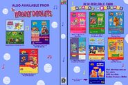 The Hooley Dooleys and Bananas in Pyjamas - Pop and It's Music Time DVD Cover - Inside