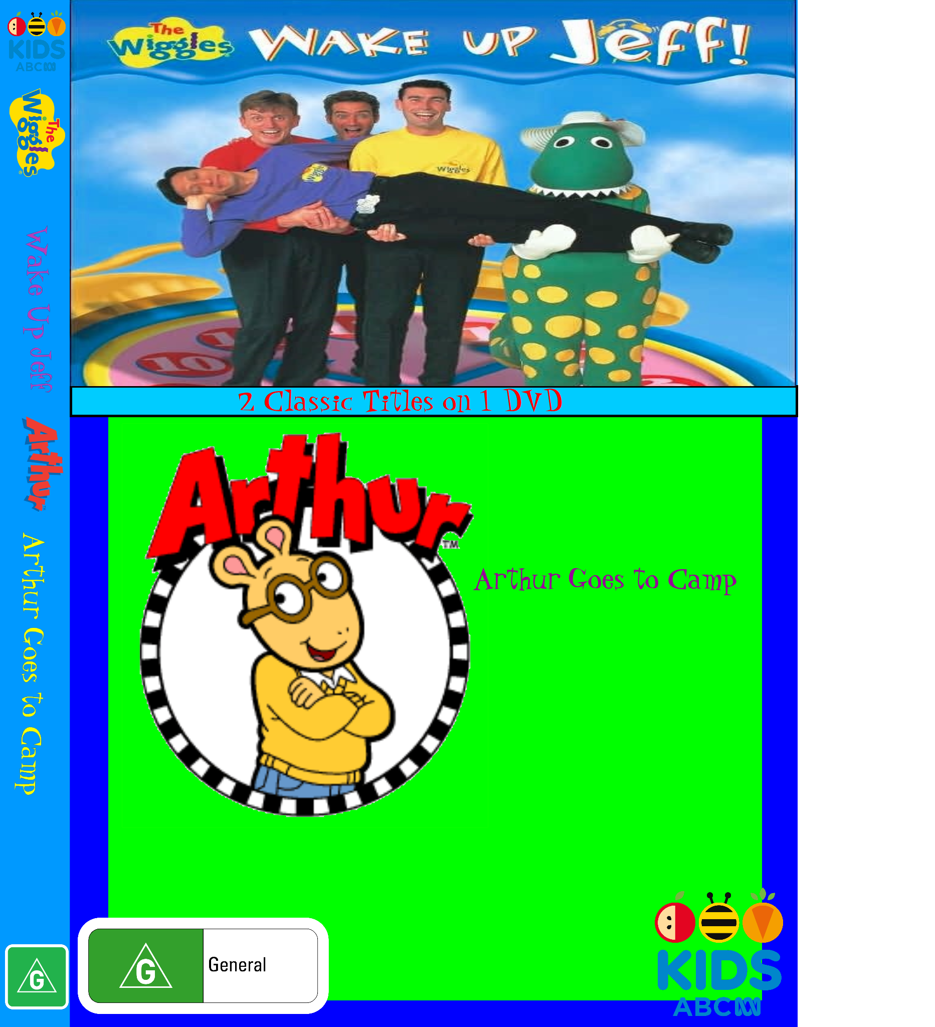 The Wiggles and Arthur: Wake Up Jeff and Arthur Goes to Camp (video)