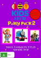 ABC For Kids Party Pack 2 Rerelease DVD Cover