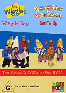The Wiggles and Bananas in Pyjamas - Wiggle Bay and Surf's Up DVD - Full Cover - Copy.jpg