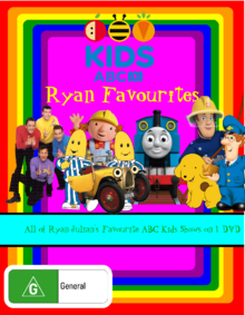ABC For Kids Ryan Favourites DVD Cover.png