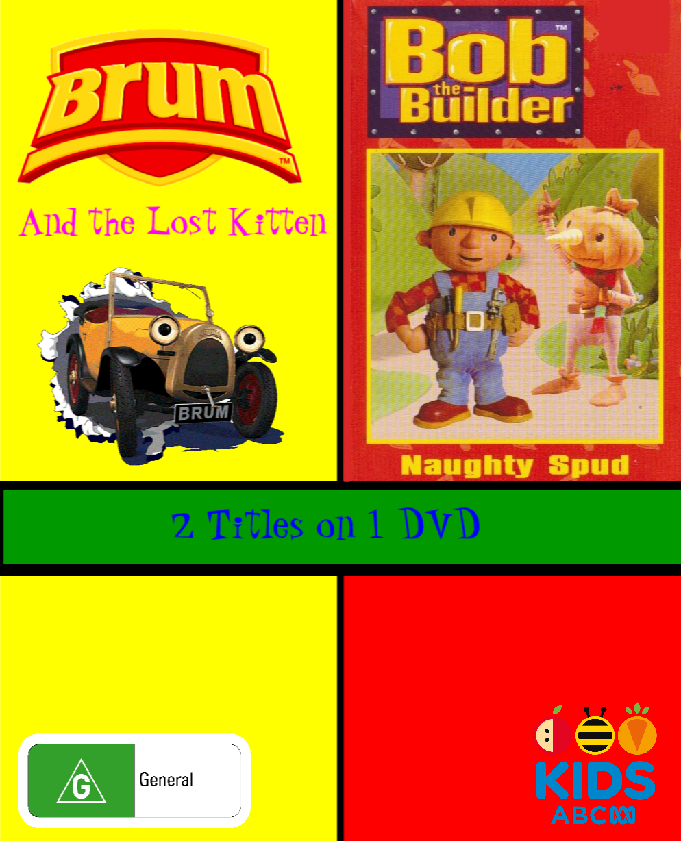 Brum and Bob the Builder - Brum and the Lost Kitten and Naughty Spud (video)