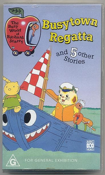 The Busy World of Richard Scarry - Busytown Regatta
