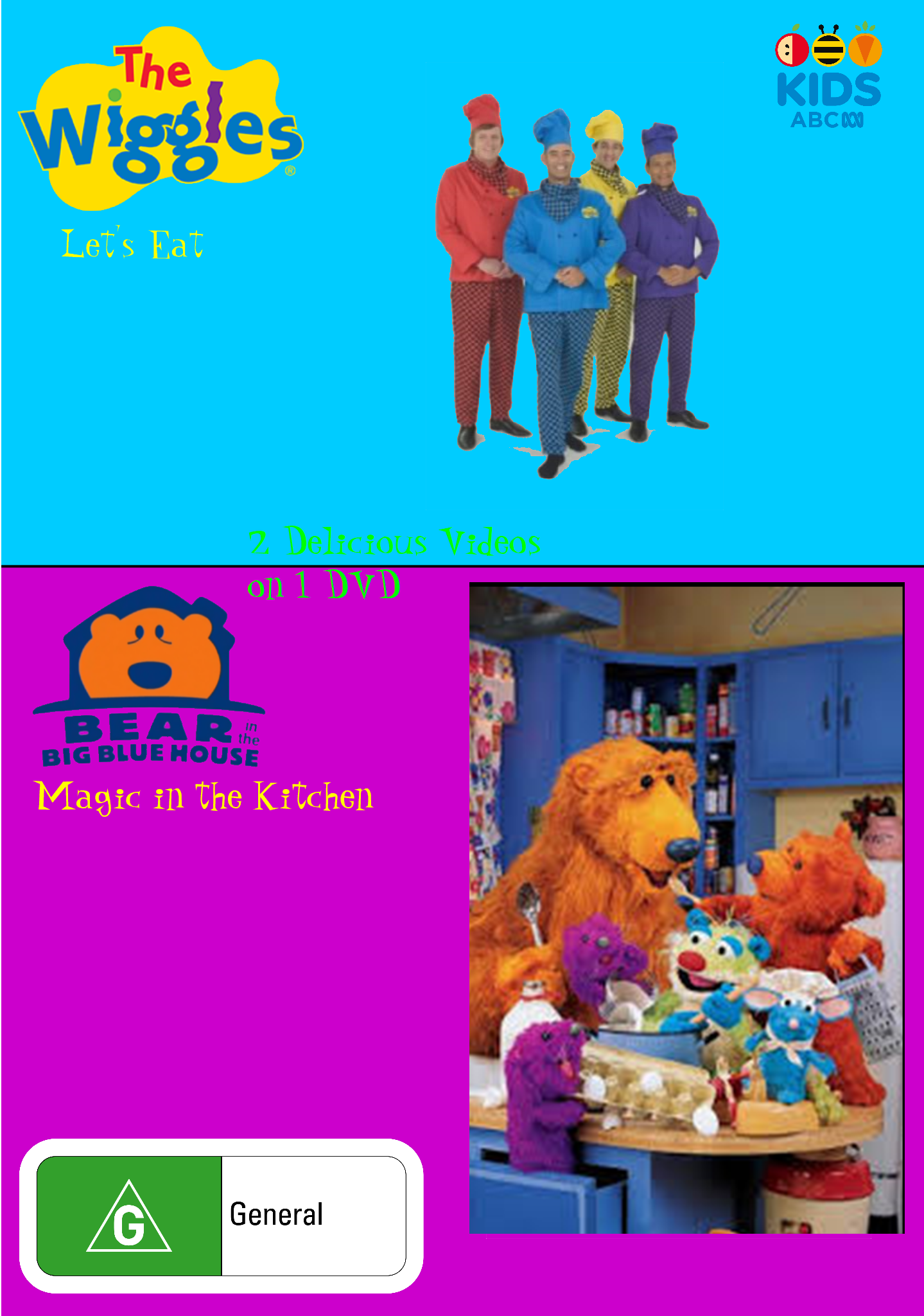 The Wiggles and BITBBH: Let's Eat and Magic in the Kitchen