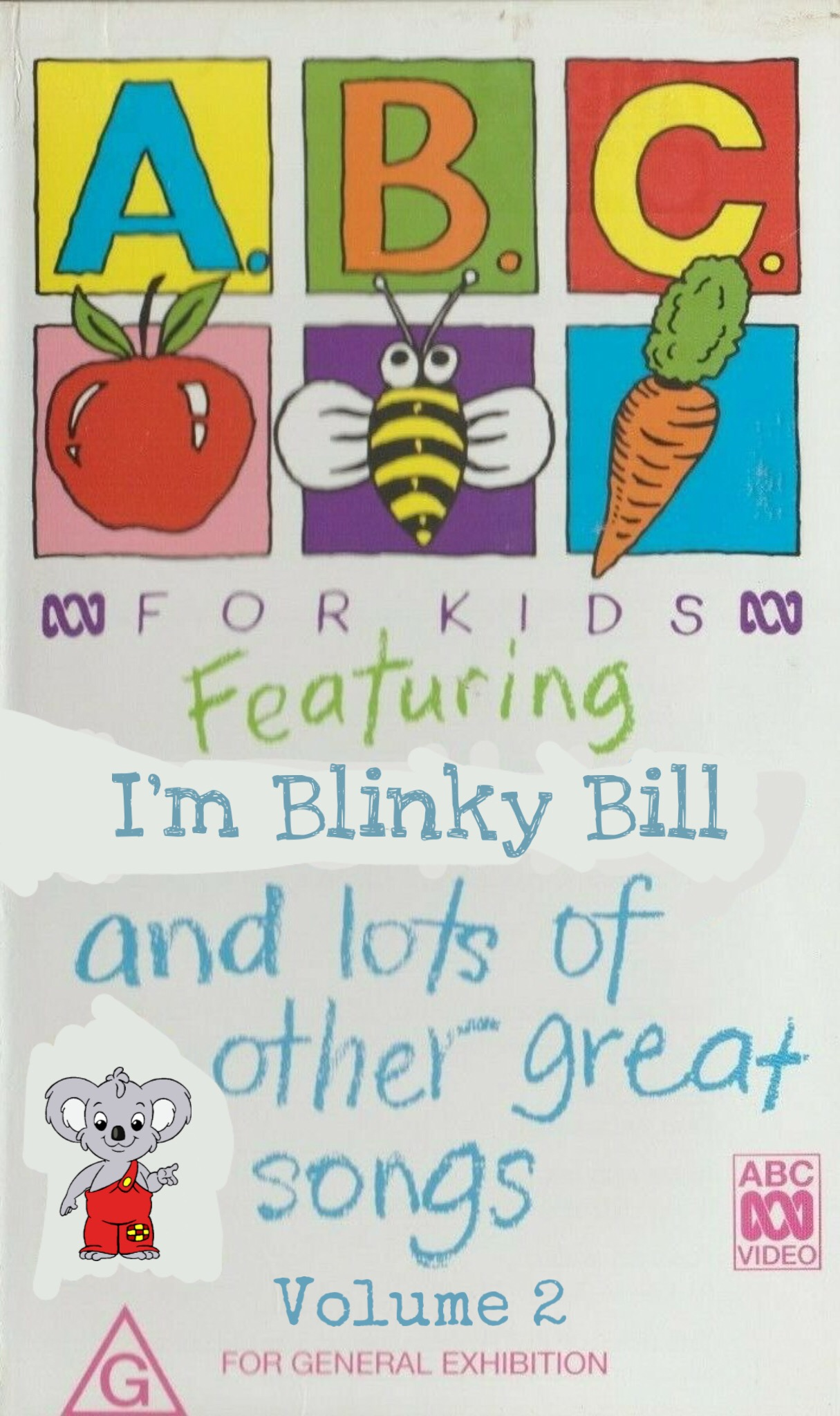 ABC For Kids Fanon:ABC For Kids: Featuring I'm Blinky Bill and Lots of Great Songs Volume 2