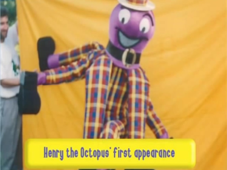 Henry the Octopus Through the Years