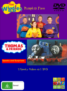 Pumpkin Face and Spooks and Surprises DVD Cover (Front).png