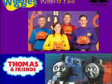 The Wiggles/Thomas and Friends - Pumpkin Face/Spooks and Surprises (video)