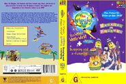 The Wiggles and Bananas in Pyjamas - IAWWW and BAAJ re-release DVD Cover