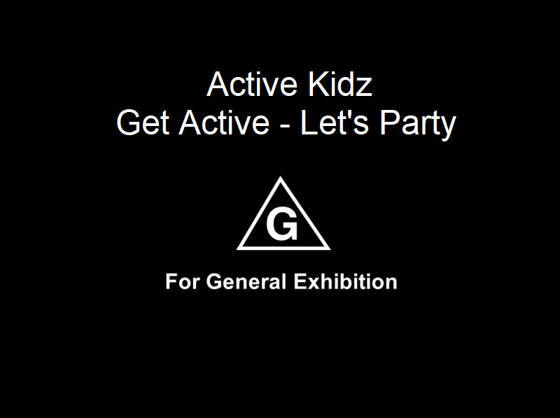 Get Active! Let's Party!