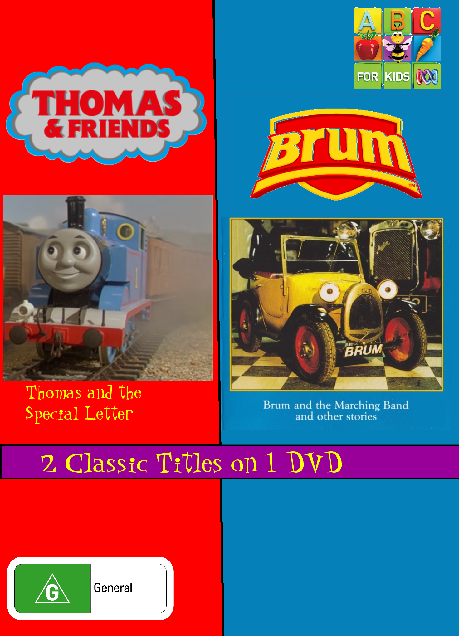 Thomas & Friends and Brum: Thomas & The Special Letter/Brum & the Marching Band (video)