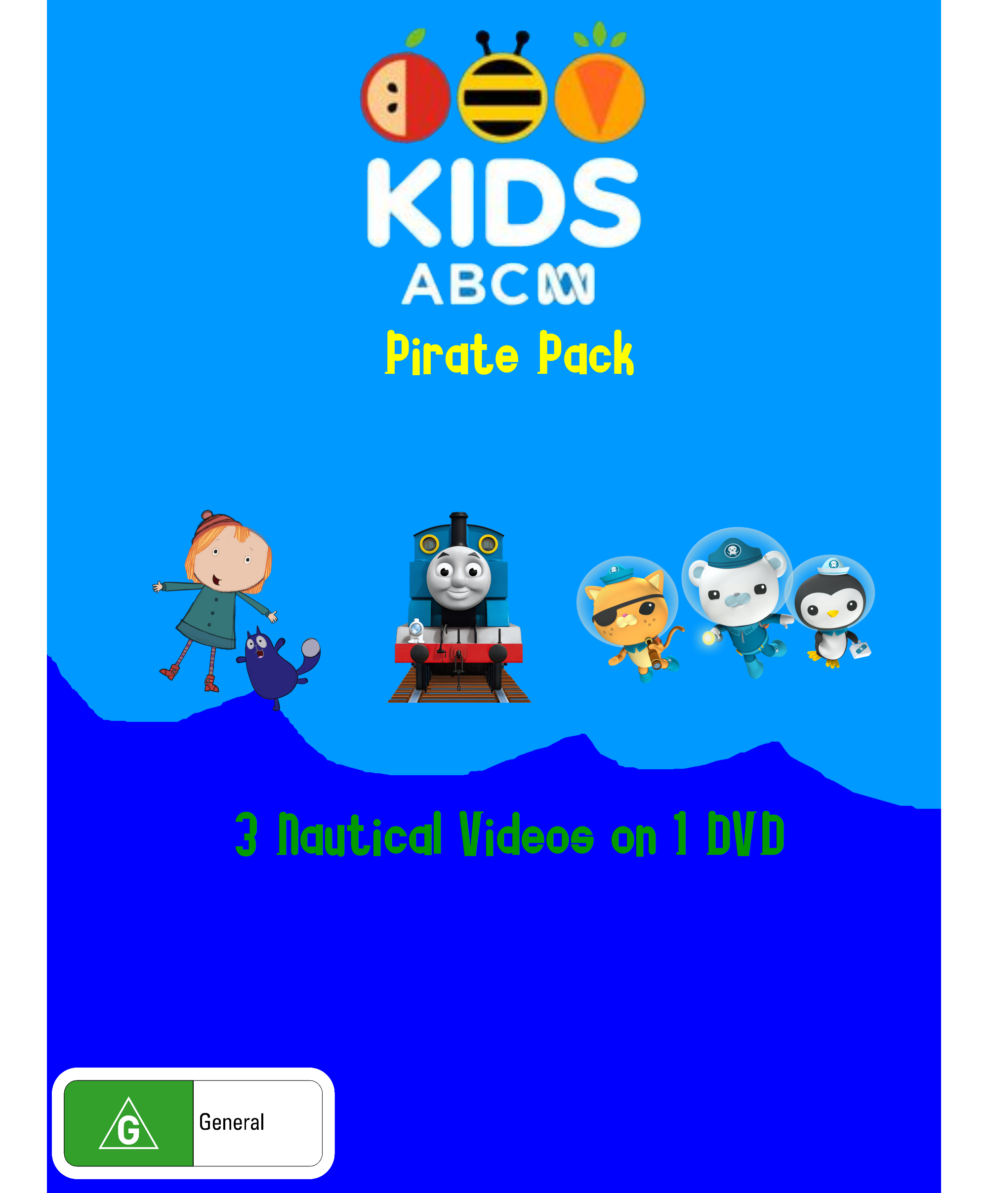 ABC For Kids: Pirate Pack (video)