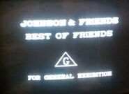 Opening to Johnson & Friends Best of Friends 1994 AUS VHS